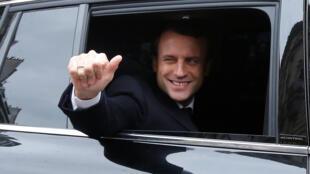 امانوئل ماکرون، رئیس جمهوری جدید فرانسه