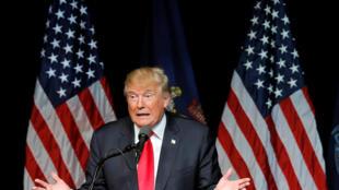 O candidato Donald Trump está despencando nas pesquisas até mesmo  dentro do própio partido Republicano,