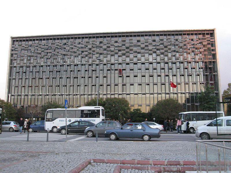 Le centre culturel Atatürk à l'abandon.