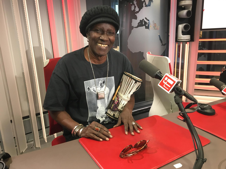 Abdou Mboup at RFI on 11 September, 2019.