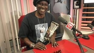 Abdou Mboup at RFI on 11 September, 2019.