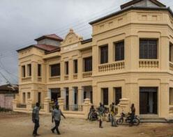 La villa Ajavon, de style afro-brésilien, accueille les collections du nouveau musée.
