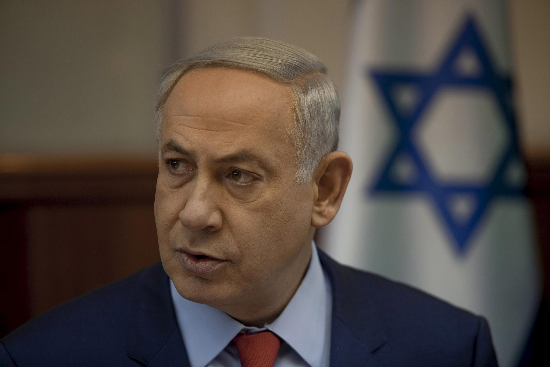 "O primeiro-ministro israelense, Benyamin Netanyahu, disse que ""Europa deveria se envergonhar""."