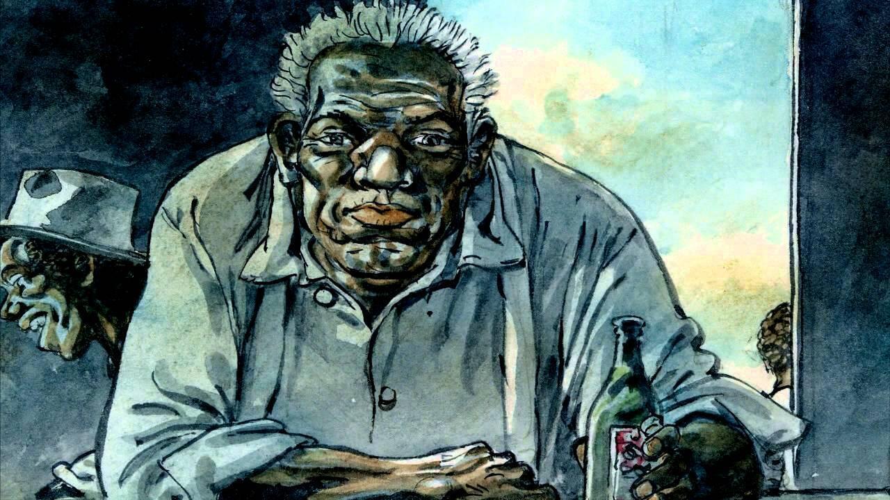 Détail de la bande dessinée «Old Pa Anderson» d'Hermann.