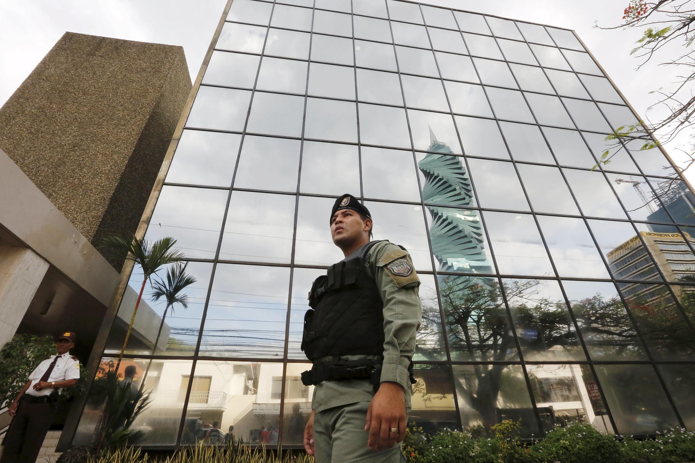 Trụ sở tổ hợp luật Mossack Fonseca ở Panama City, 12/04/2016.