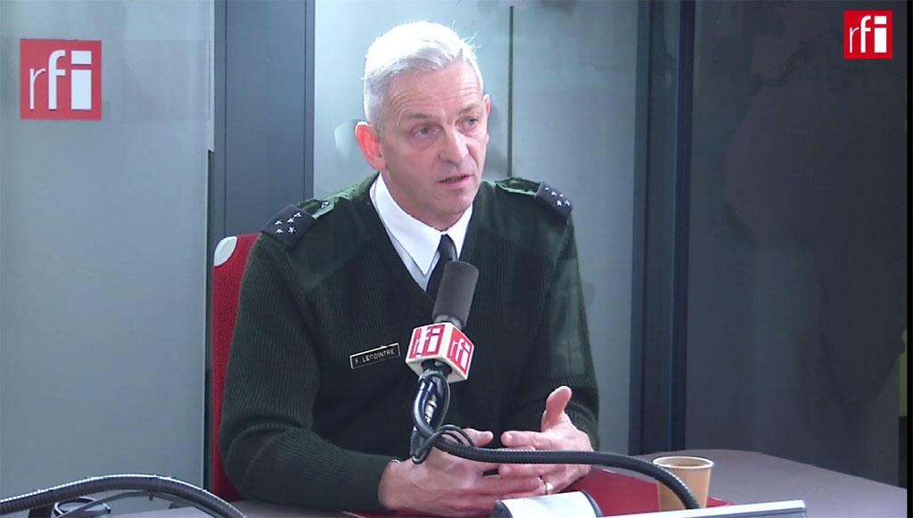 O General francês François Lecointre, chefe do Estado Maior das Forças Armadas francesas