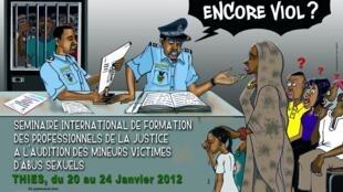 Campagne de sensibilisation aux violences sexuelles sur les enfants du CEGID (Centre de Guidance Infantile Familiale de Dakar).