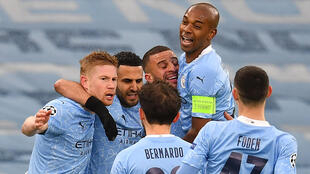 Manchester City can seal a third Premier League title in four years if they beat Chelsea
