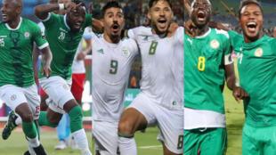 Madagascar, l'Algérie et le Sénégal sont les trois équipes de l'année 2019.