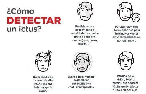 Detectar con rapidez un ictus puede salvar muchas vidas o reducir sus secuelas posteriores.
