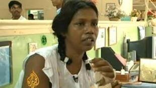 Người giúp việc Sri Lanka bị hành hạ