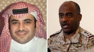 احمد العسیری و سعود القحطانی