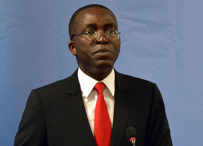 Aliyekuwa Waziri Mkuu wa DRC  Augustin Matata Ponyo, akiwa jijini Kinshasa, Januari 25 2014
