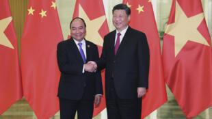 Chine - Vietnam - PM Nguyen Xuan Phuc - Xi Jinping