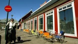 冰岛首都雷克雅未克(Reykjavik) 一街景