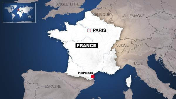 Perpignan est une ville de plus de 100 000 habitants, dans le sud de la France.