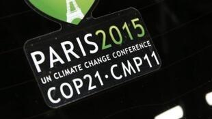 Logo của hội nghị COP21 Paris 2015