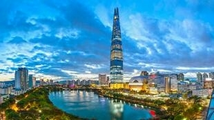 韓國首爾市景
