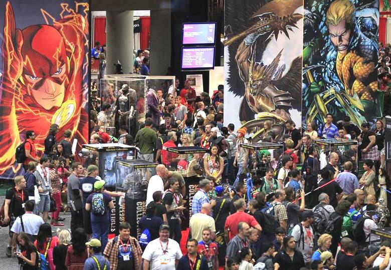 Comic-Con San Diego (Hoa Kỳ) là liên hoan quốc tế lớn nhất kể từ năm 1970 về dòng sản phẩm truyện tranh