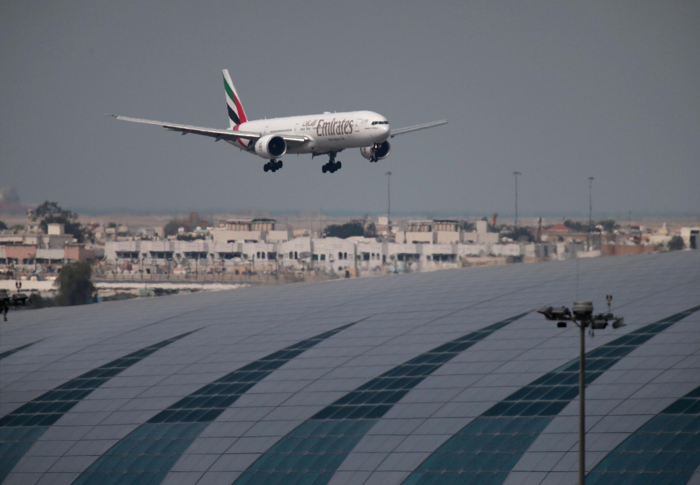 فرودگاه دوبی یکی از مقصدهای مهم برای بازرگانان ایرانی است