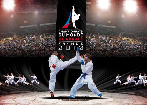 Giải Vô địch thế giới Karaté tổ chức tại Paris từ ngày 21 đến 25 /11/2012.