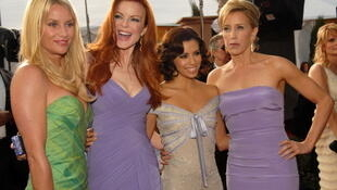 Quatre actrices de la série «Desperate Housewives».