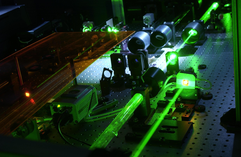 Salle de préparation du laser