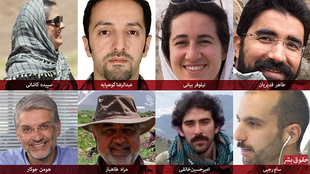 هشت فعال زیست محیطی دستگیر شده در ایران به اتهام جاسوسی