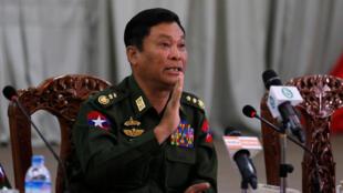 Ministan cikin gidan Myanmar Kyaw Swe