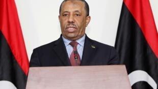 Firaministan Libya mai murabus Abdullah al-Thani