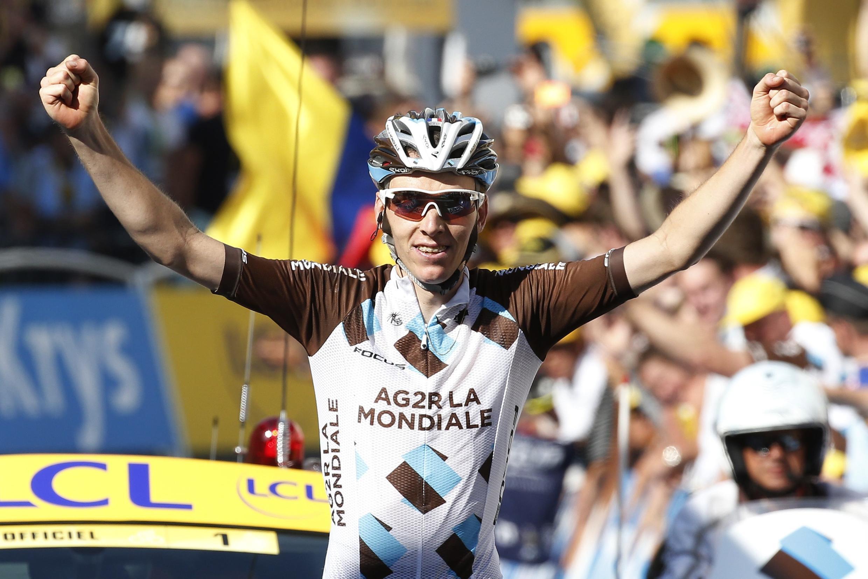 法國選手巴爾岱(Romain Bardet)獲得階段冠軍