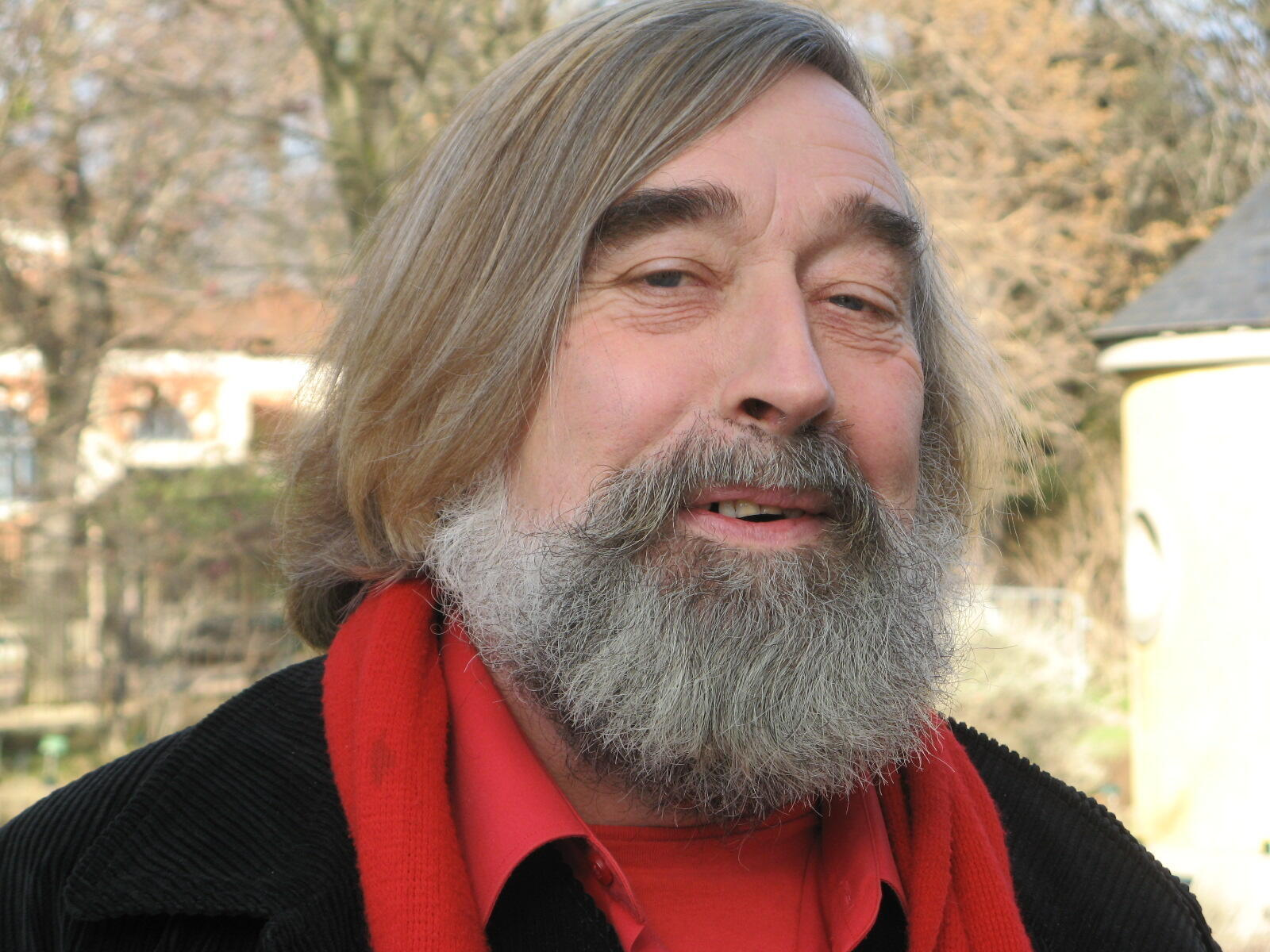 Claude Bureaux, chef jardinier du Jardin des plantes à Paris