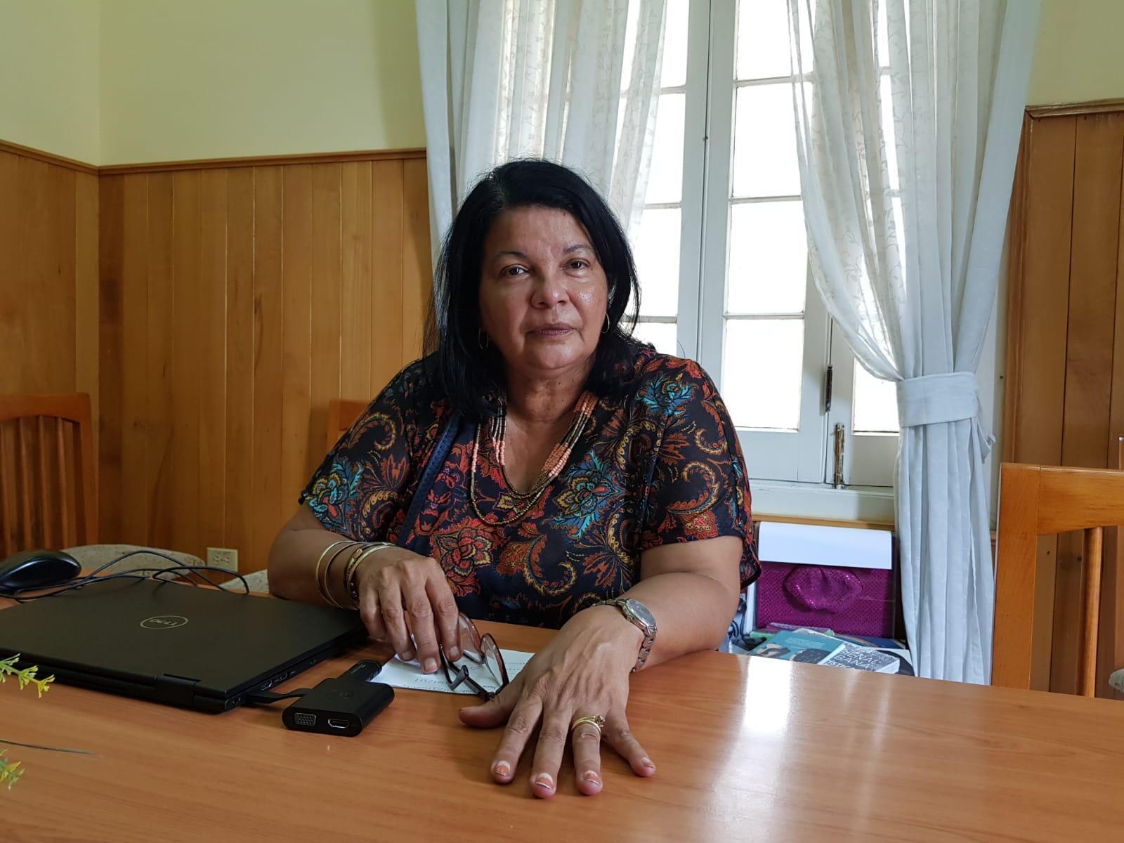 Ada Caridad Alfonso Rodriguez, diretora de Projetos e Pesquisas do Cenesex.