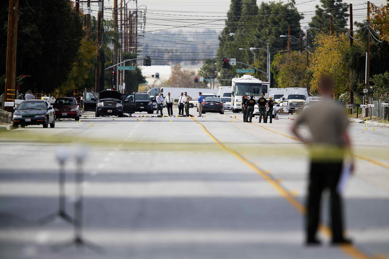 Điều tra về vụ nổ súng ngày  2/12/ 2015, tại San Bernardino, California, Hoa Kỳ.