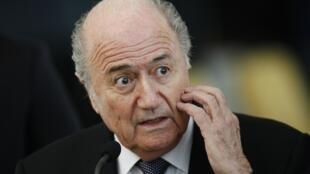 Le président de la FIFA, Joseph Blatter, sous le feu des critiques.