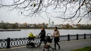 Une vue de Tver, à 180 Km de Moscou, en Russie (image d'illustration).
