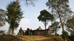 The 900-year-old Preah Vihear temple is a world heritage site