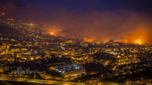Incêndios na Ilha da Madeira