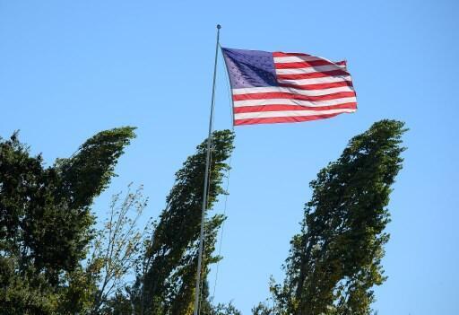 Bandeira norte-americana. Imagem de arquivo.