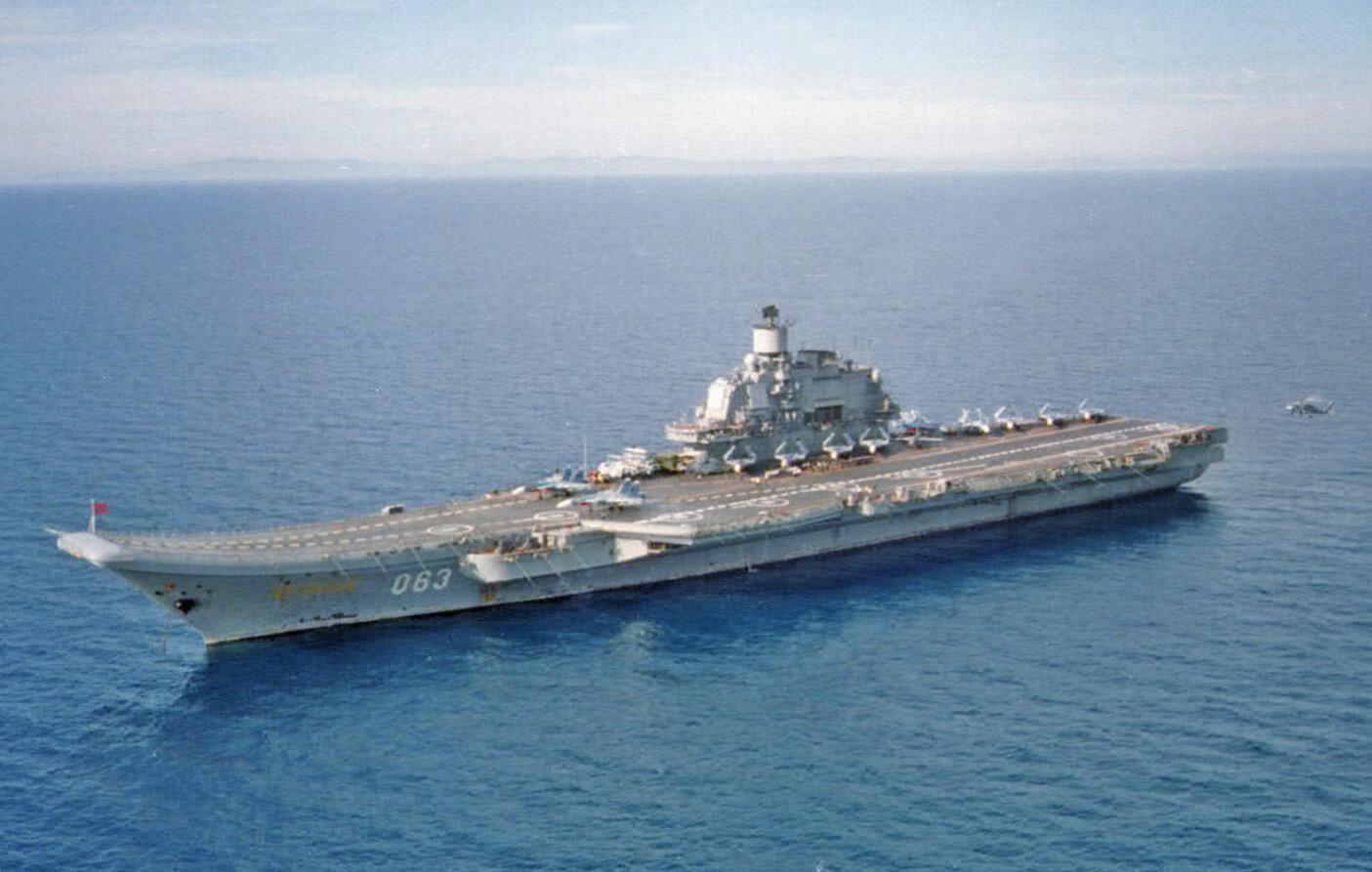 Đô Đốc Kuznetsov, tàu sân bay duy nhất của Hải quân Nga.