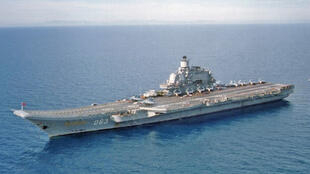 La Russie souhaite moderniser sa flotte de sous-marin nucléaires. Ici, l'<i>Amiral Kuznetsov, </i>le seul porte-avions russe.