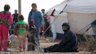 Dubban mutane ne ke gudun hijira a Iraqi
