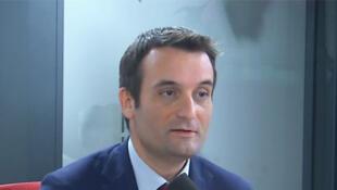 Florian Philippot sur RFI le 20 mai 2019.