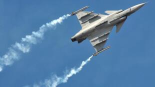 印度Yelahanka空军基地战机飞行2017年2月15日班加罗尔