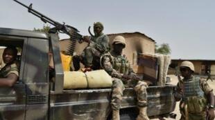 Des militaires nigériens.