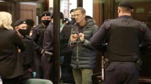 Nhà đối lập Nga Alexei Navalny bị kết án tù giam  trong phiên xử ngày 02/02/2021 tại một tòa án ở thủ đô Matxcơva.