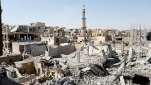 داعش در رقه سقوط کرد و رقه بدست نیروهای دمکراتیک سوریه کاملاً آزاد شد