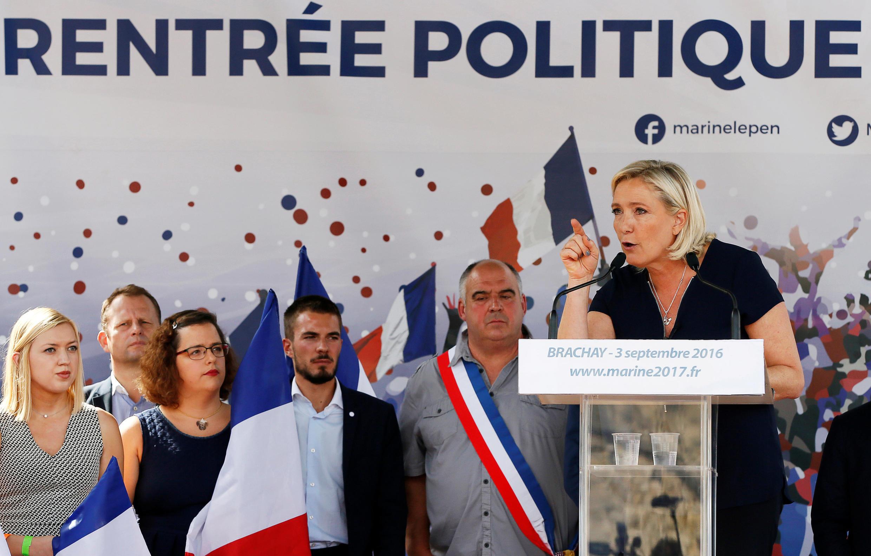 Marine Le Pen a pointé du doigt les carences de ses adversaires pour 2017.