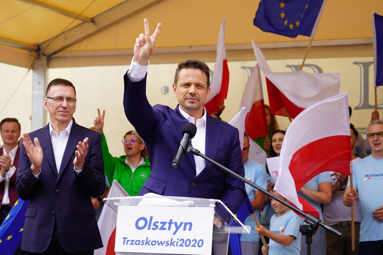 Мэр Праги, кандидат в президенты Польши от оппозиционных сил Рафал Тшасковский