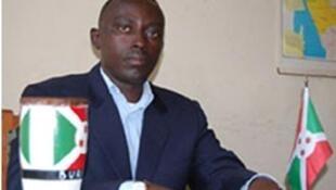 Pacifique Nininahazwe,militant burundais des droits de l'homme.